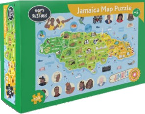 Book Cover Jamaica Jigsaw Puzzle by Very Puzzled