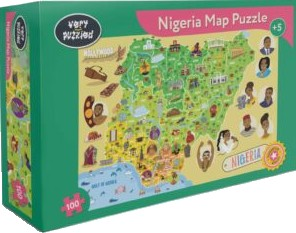 Book Cover Nigeria Jigsaw Puzzle by Very Puzzled