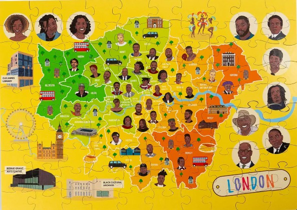 Click for more detail about London Map Jigsaw Puzzle by Very Puzzled