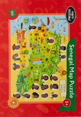 Book Cover Senegal Jigsaw Puzzle by Very Puzzled