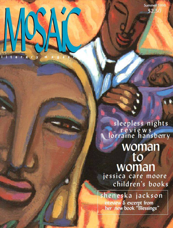Book Cover Mosaic Literary Magazine Issue #2 by Ron Kavanaugh