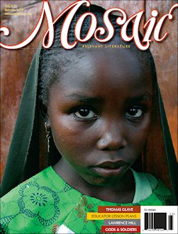 Book Cover Mosaic Literary Magazine Issue #24 by Ron Kavanaugh