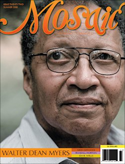 Book Cover Mosaic Literary Magazine Issue #25 by Ron Kavanaugh