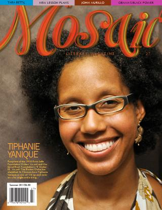 Book Cover Mosaic Literary Magazine Issue #27 by Ron Kavanaugh