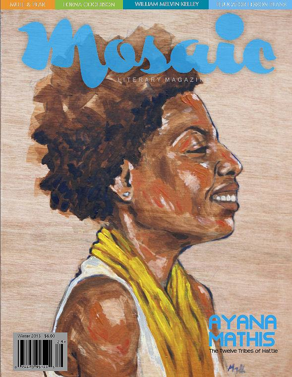 Book Cover Mosaic Literary Magazine Issue #29 by Ron Kavanaugh
