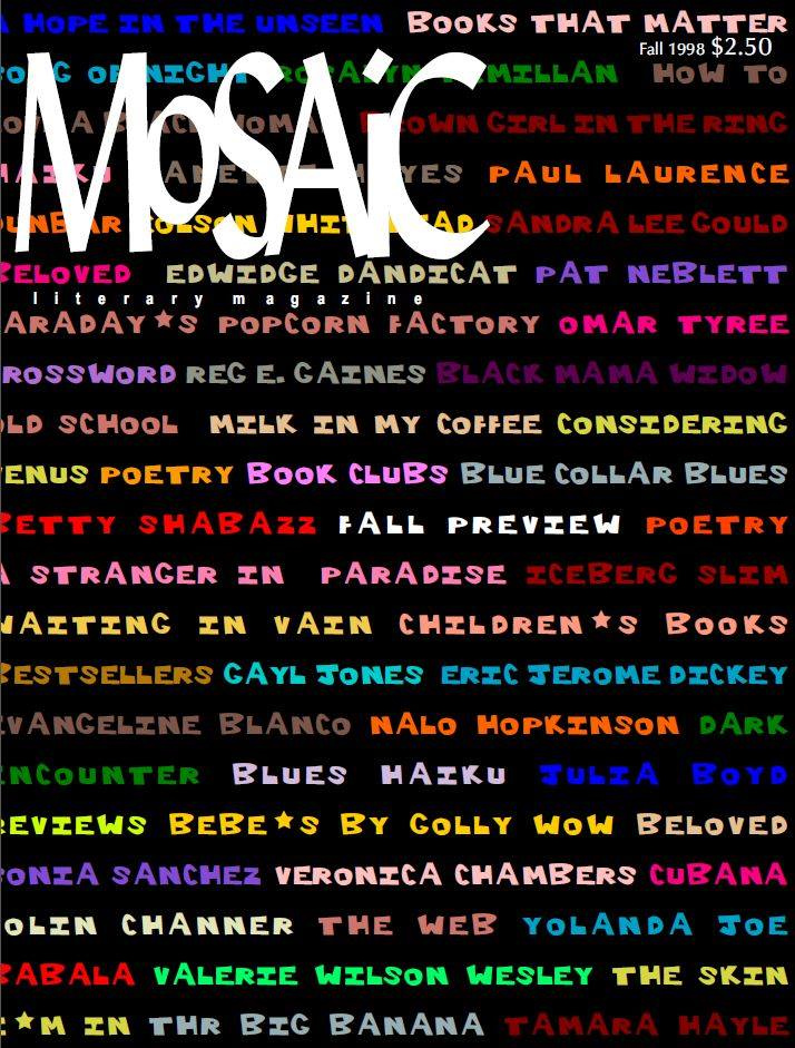 Click for more detail about Mosaic Literary Magazine Issue #3 by Ron Kavanaugh