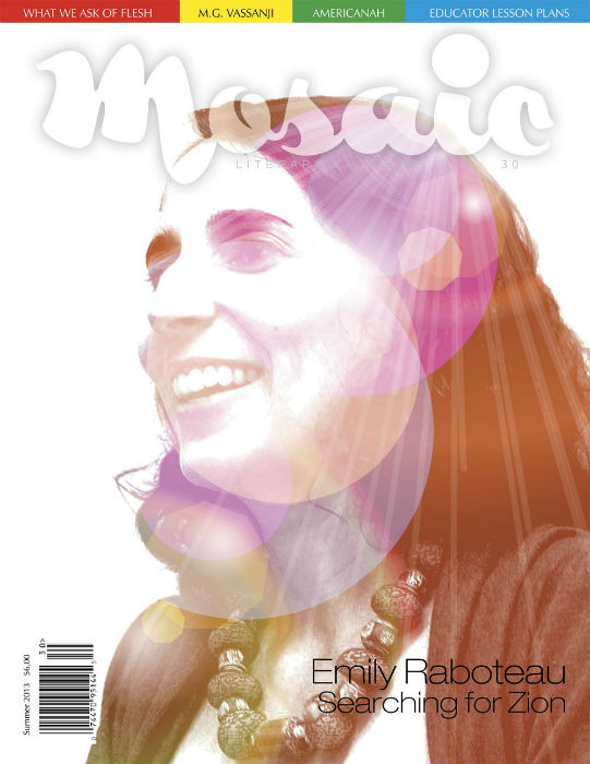 Book Cover Mosaic Literary Magazine Issue #30 by Ron Kavanaugh