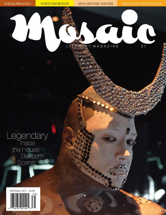 Book Cover Mosaic Literary Magazine Issue #31 by Ron Kavanaugh