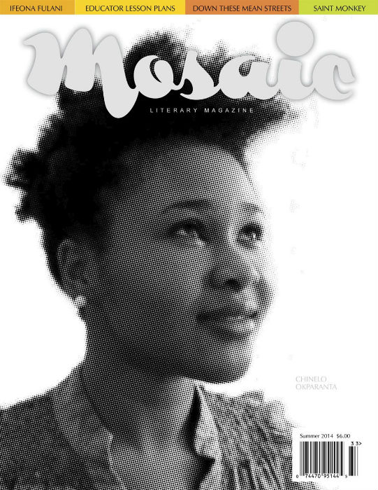 Book Cover Mosaic Literary Magazine Issue #33 by Ron Kavanaugh