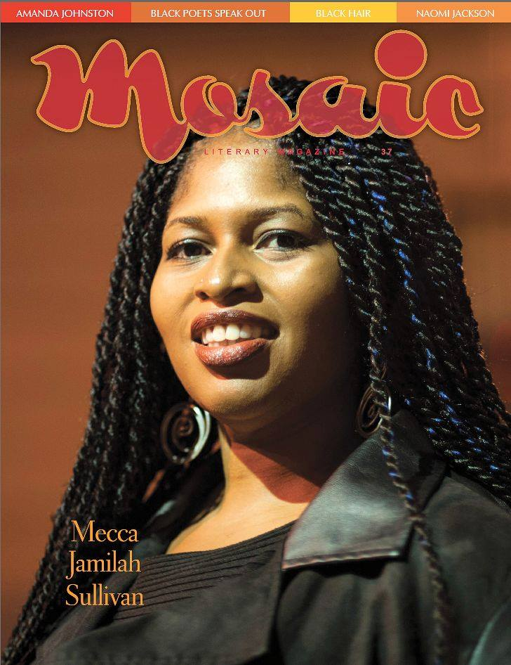 Book Cover Mosaic Literary Magazine Issue #37 by Ron Kavanaugh