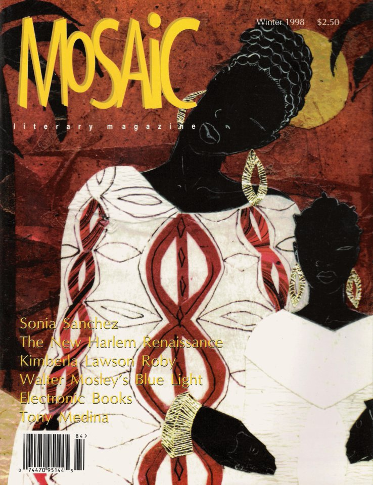 Book Cover Mosaic Literary Magazine Issue #4 by Ron Kavanaugh