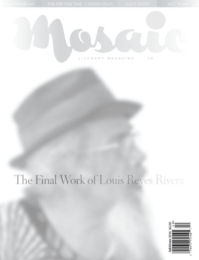 Book Cover Mosaic Literary Magazine Issue #40 by Ron Kavanaugh