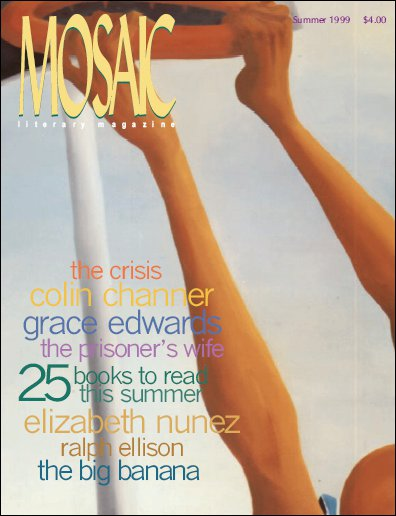 Book Cover Mosaic Literary Magazine Issue #6 by Ron Kavanaugh