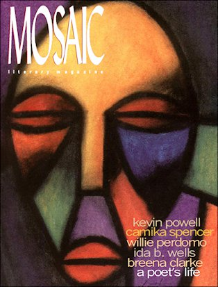 Book Cover Mosaic Literary Magazine Issue #7 by Ron Kavanaugh