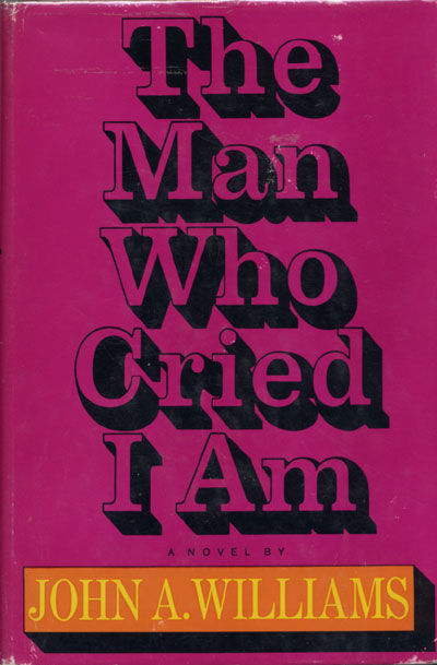 The 1967 book cover of The Man Who Cried I Am