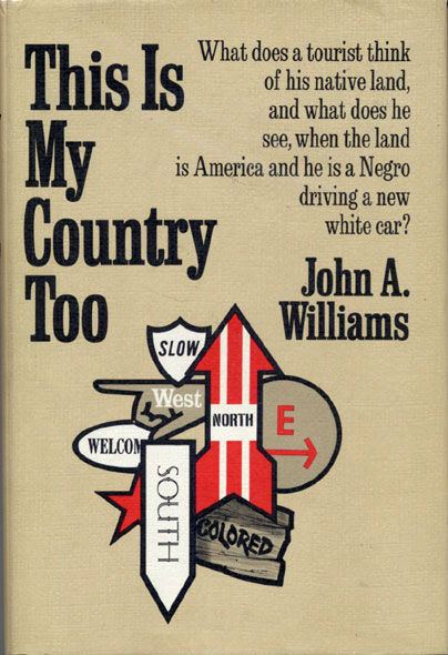 Book Cover This is My Country Too by John A. Williams