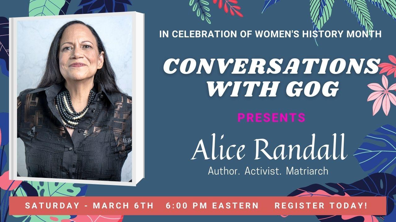 Alice Randall GOG banner
