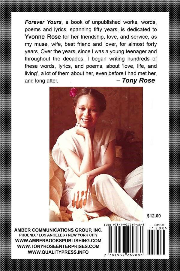 dediciated tion Yvonne Rose