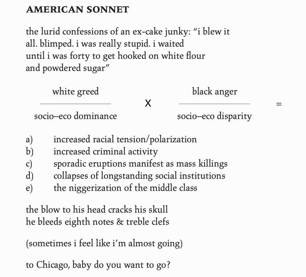 """Image of the The Poem, """"American Sonnet"""""""