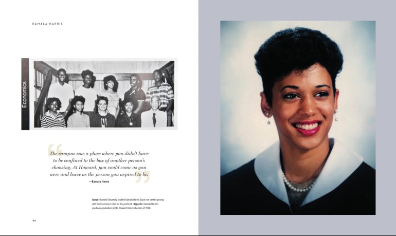 Sample Page from Vice President Kamala Harris by Malaika Adero