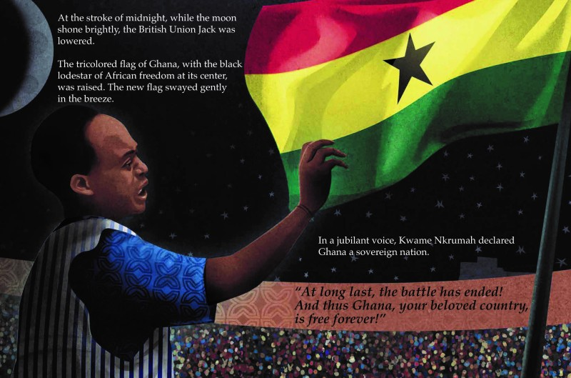 Kwame Nkrumah�s Midnight Speech for Independence image from book