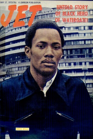 Jet Magzine Cover of Frank Wills