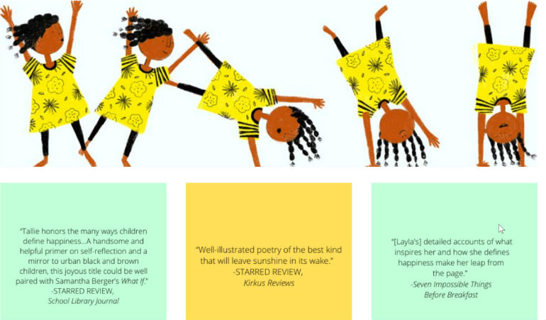 Illustrations by Ashleigh Corrin and quote review