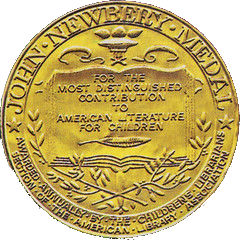 The Newbery Medal or Honor Seal