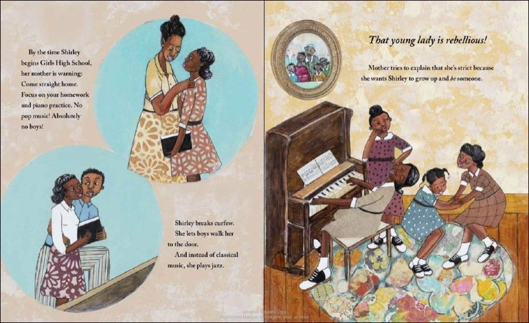 Image from Shirley Chisholm Dared: The Story of the First Black Woman in Congress