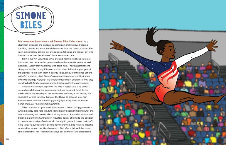 Image from A Black Woman Did That: Simone Biles