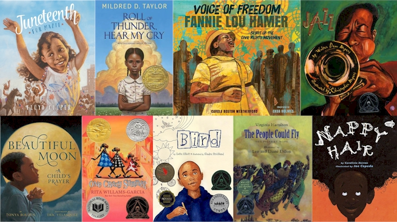 Top 100 Recommended African American Children S Books