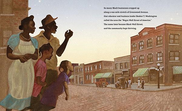 Sample image from Unspeakable: The Tulsa Race Massacre