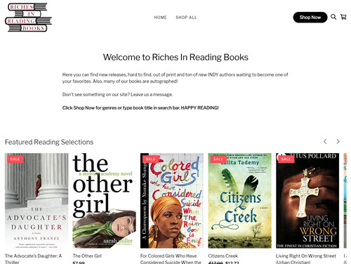 Riches In Reading Books