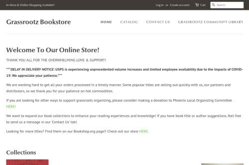 Grassrootz Bookstore