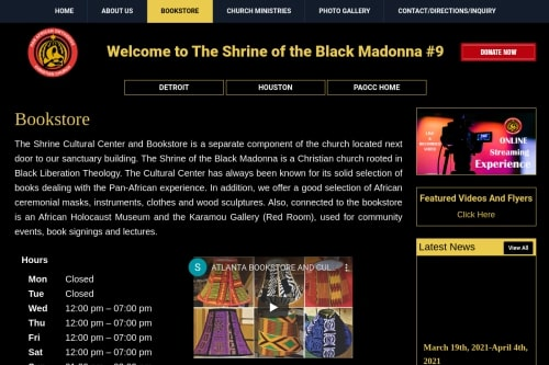 Shrine of the Black Madonna Cultural Center and Bo