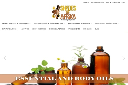 Shades of Afrika Bookstore