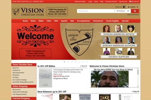Vision Christian Bookstore