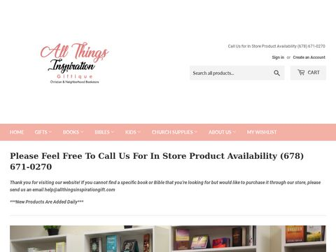 All Things Inspiration Giftique