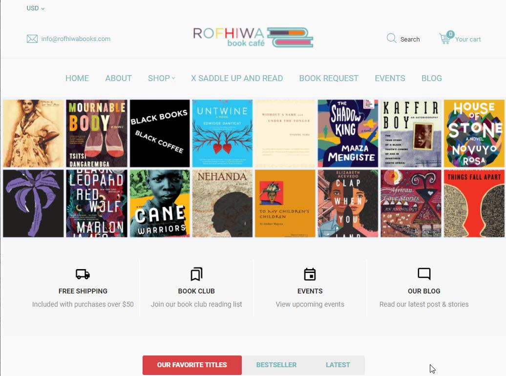 Rofhiwa Book Café