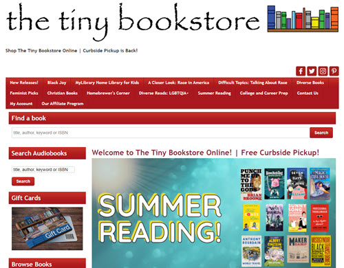 The Tiny Bookstore