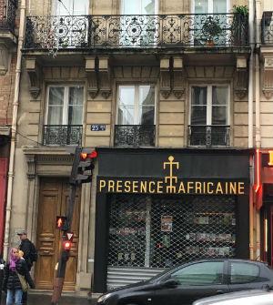 Présence Africaine bookstore Paris France