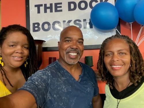 Photo Donya Craddock, Troy Johnson, and Donna Craddock