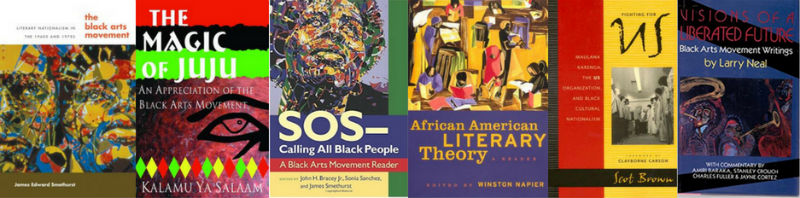 Black Arts Movement books referenced in this article