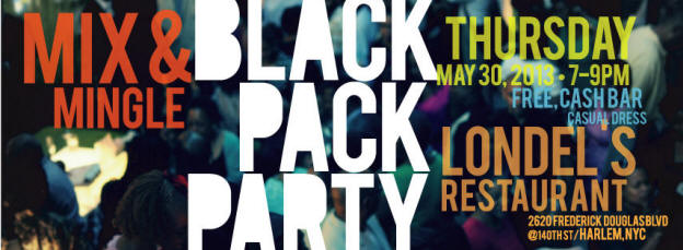 Black Pack Party Banner