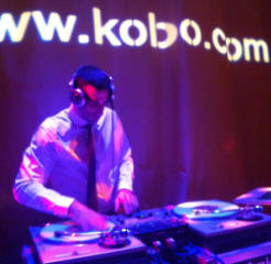 Kobo sponsor the party