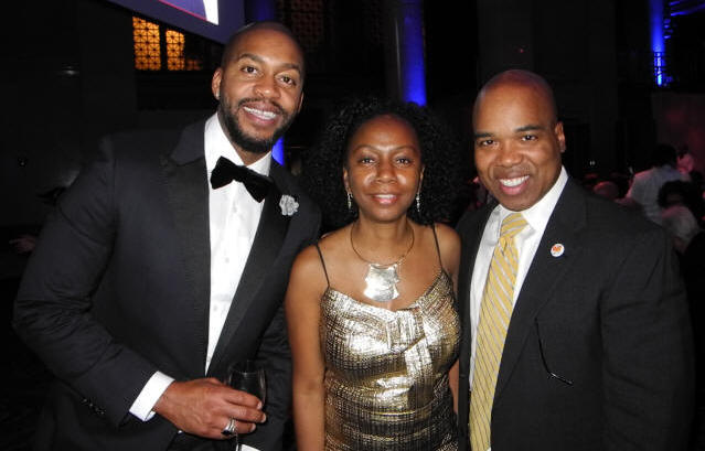 Mitchell Jackson, Sherrie Young and Troy Johnson