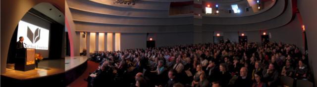 Photo Tishman Auditorium National Book Awards were held
