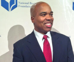 Troy Johnson at the National Book Awards