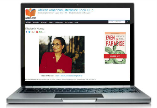 Every author should have their own web presence let AALBC host yours