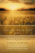 Lessons from Life Bible: Personal Reflections with Jimmy Carter
